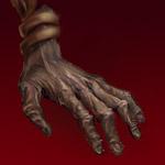Hand von Unschuldsengel